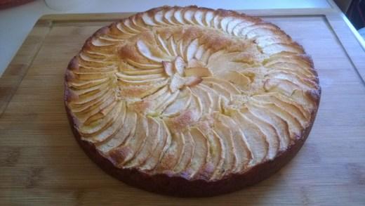 gâteau aux pommes crème frangipane