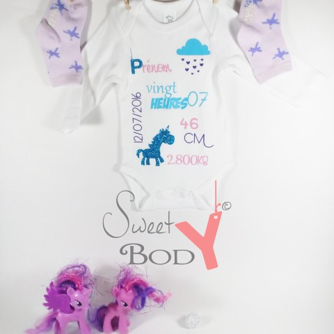 sweety body© licorne baby no soucy