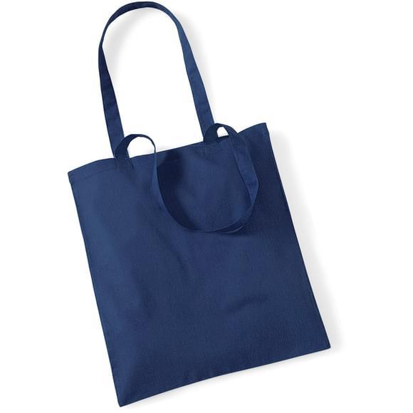 tote bag à personnaliser bleu marine