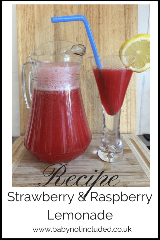 Strawberry And Raspberry Lemonade