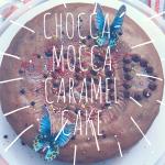 Chocca Mocca Caramel Cake