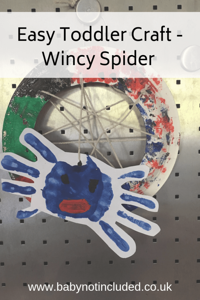 Wincy Spider Craft