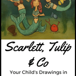 Bespoke Children's Illustrations from Scarlett, Tulip & Co