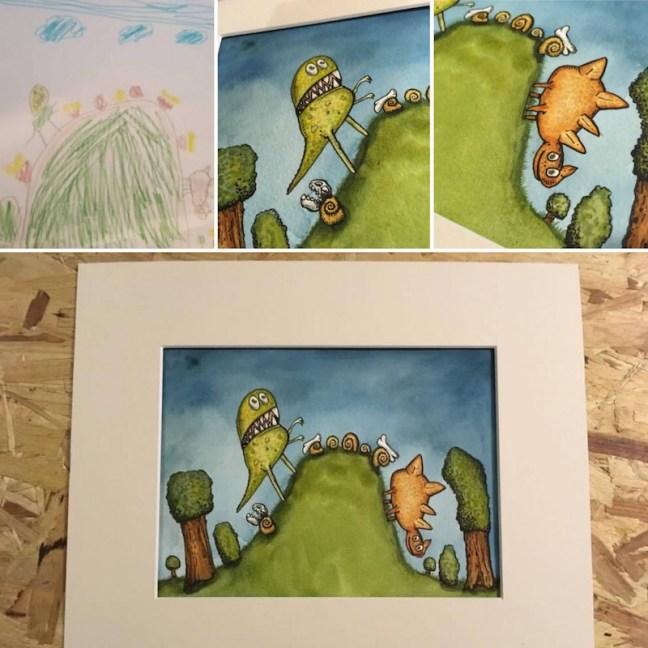 Bespoke Children's Illustrations