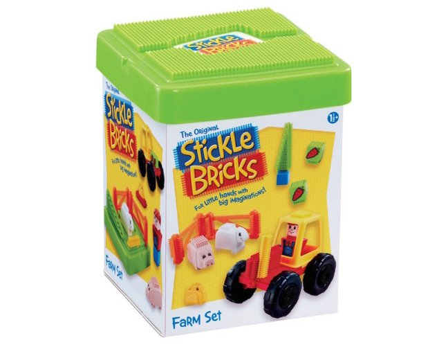 Christmas Gift Guide 1 - 2 years. Stickle Bricks are great for little hands
