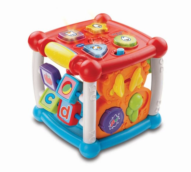 Baby's First Christmas Gift Guide. Vtech Learn and turn activity cube