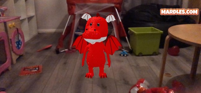 Mardles HugARmals Dragon the interactive cuddly friend that your kids will love to play with