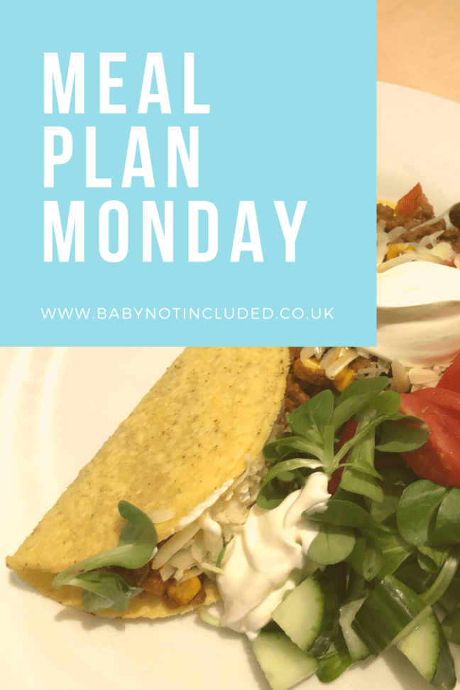Meal Plan Monday - Getting organised by setting a seven day weekly meal plan and shopping for the exact ingredients not only feels more organised but saves money as well