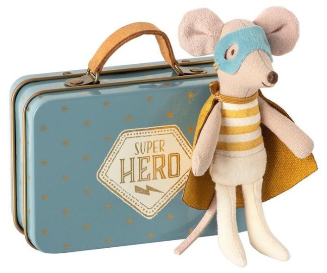 Maileg Superhero Mouse from Little Wrens Nest