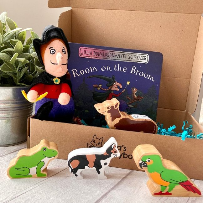 Room On The Broom Story Box