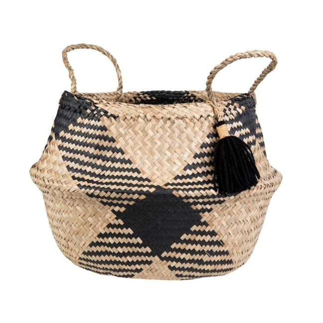 Tribal Tassel Basket from Hyde and Seek
