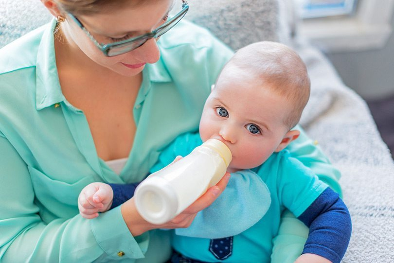 biberones para bebés amamantados