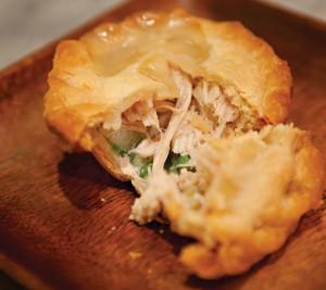 Individual turkey pot pies