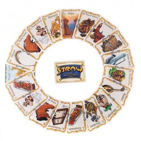 Straw Card Game