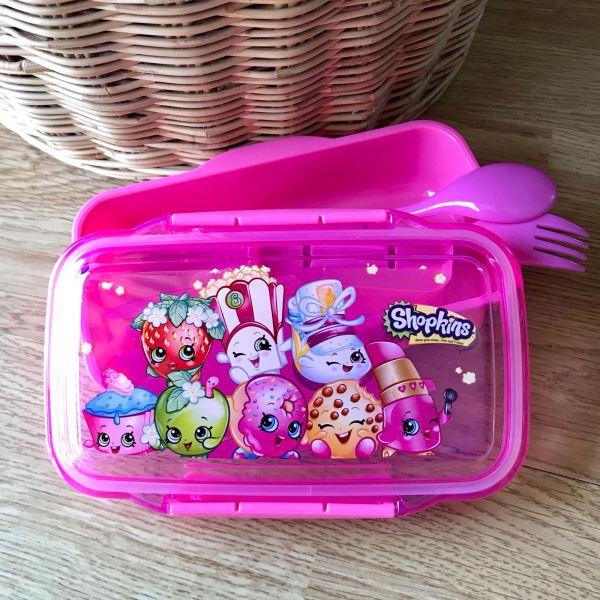 กล่องอาหาร Shopkins Lunch Box