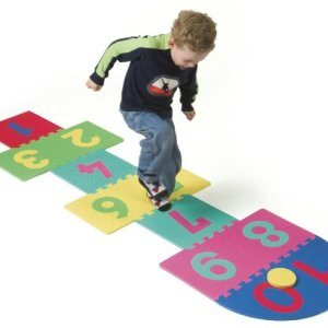 Foam Hopscotch