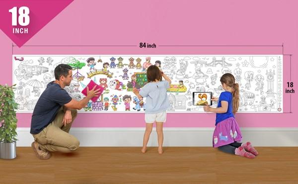 Nursery Rhymes Wall Roll