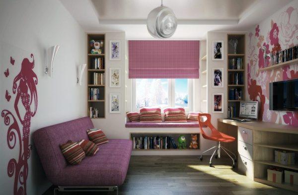 Комната для девочки-подростка 16 лет (19 фото) — примеры ...