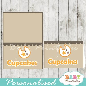 printable food labels baby block letters boy