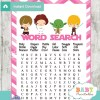 star wars baby shower word search game printable puzzles