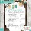 baby shower mason jar games guess the price