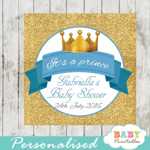 little prince printable baby shower gift tags