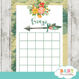 gender neutral adventure awaits baby shower games vintage map world travel theme