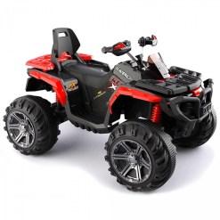 crveni dečiji bagi (quad) za vožnju quad