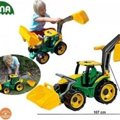 deciji bager i traktor