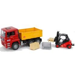 kamion i paletar