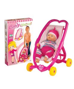 Kolica za lutke Candy&Ken