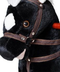 Klackalica Konjić plišani crni