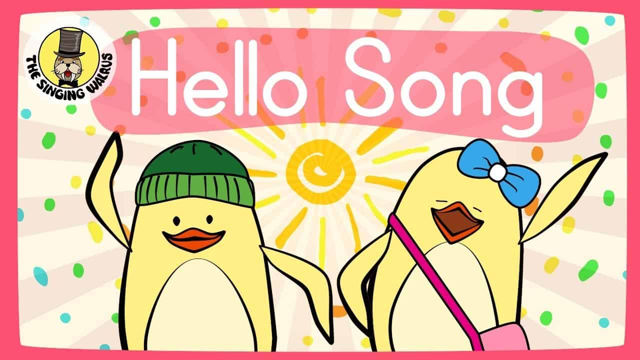 Hello Song for Kids - Kids Songs - Baby Rhymes