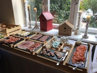 Frühstück im Landhaus am See