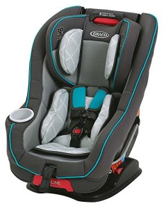 Graco Size 4 Me Convertible Rapid Remove Car Seat, Finch