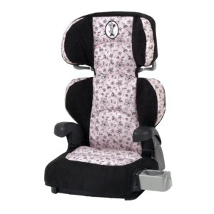 Disney Pronto Booster Car Seat, Minnie Flower
