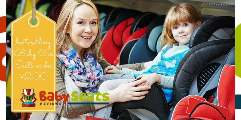 Mum and daughter looking for best-selling child car seats in the store