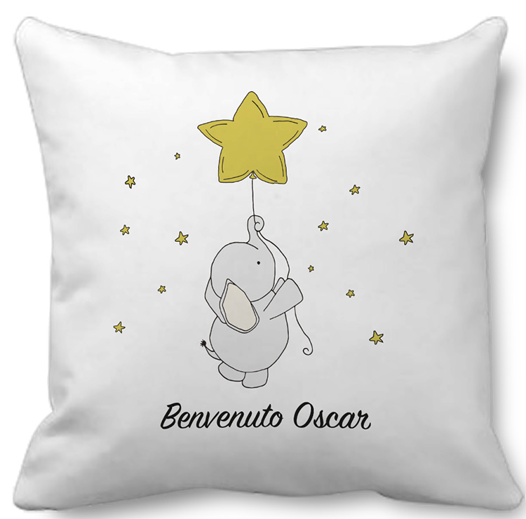 personalized boy baby pillow