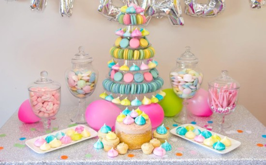 Baby Princess Decorations Shower Table