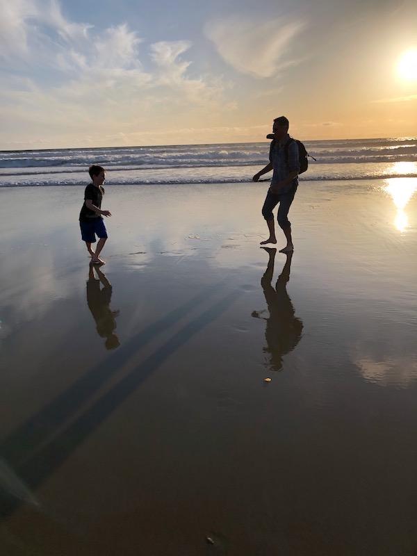 La-Jolla-Beach-Sunset