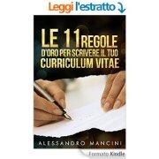 regole scrivere curriculum