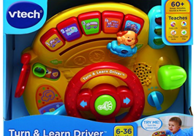( Best Baby Toy ) VTech Turn and Learn Driver
