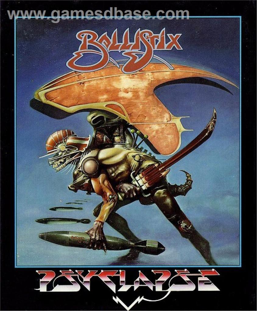 Cover Art: Ballistix (Amiga)