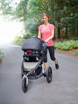 Graco Relay Click Connect Performance Jogger Stroller Review