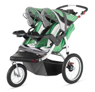 Schwinn Turismo Double Swivel Stroller