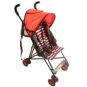 Akeeva Aluminum Lightweight Umbrella Stroller (Red)