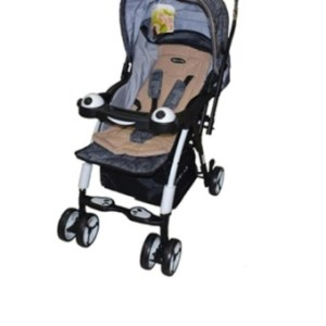 Baby 1st Reversible Stroller S-065RA (Brown & Gray)