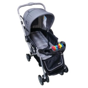 Baby 1st Stroller with Toy and Reversible Handle S-036B