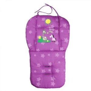 Baby Infant Stroller Seat Pushchair Cushion Cotton Mat Purple