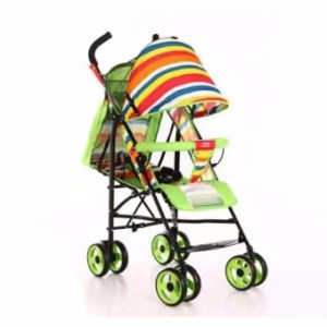 Baby Strollers Ultra-Portable Child Carts Kids Trolley 5102 (Green)